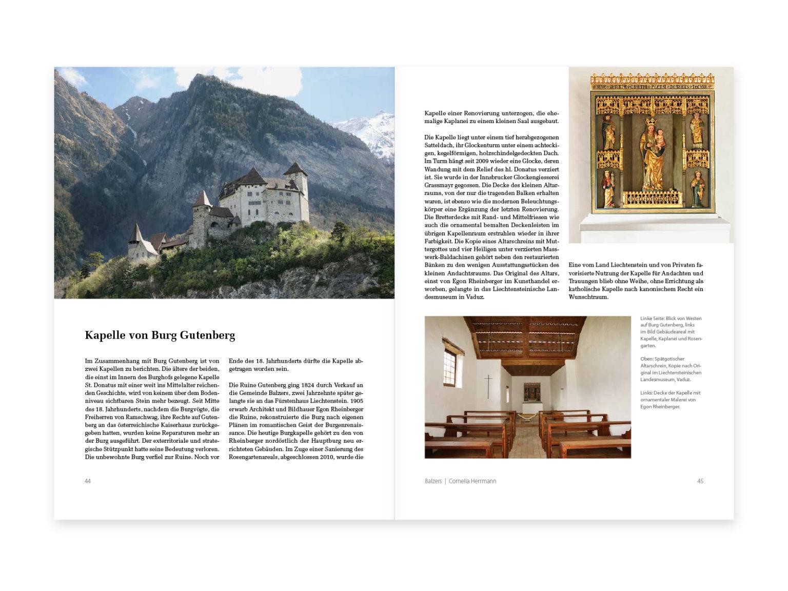 Christliches Liechtenstein – Kirchen, Kapellen und Zeichen des Glaubens